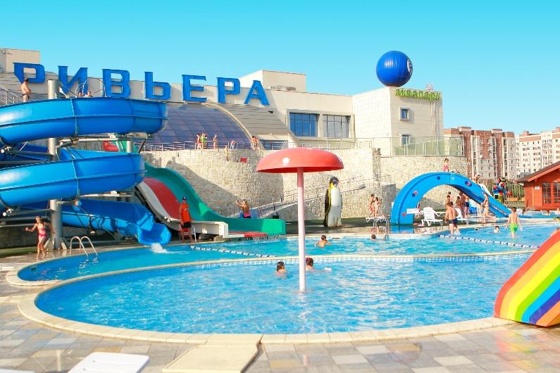 аквапарк ривьера в казани. фото